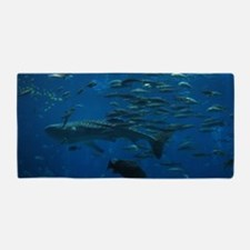 Whale Shark 23 x 35 Print Beach Towel