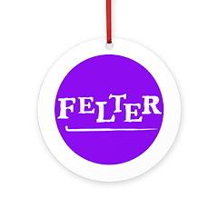 Felter - Felting Ornament (Round)