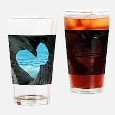 ROMANTIC VIEW * Drinking Glass