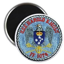 uss harold e. hold ff patch transparent Magnet
