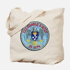 uss harold e. hold ff patch transparent Tote Bag