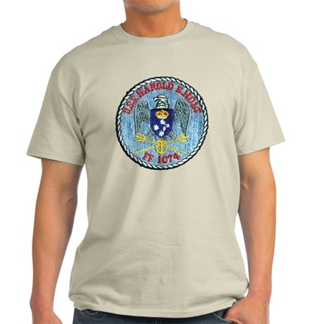 uss harold e. hold ff patch transpar Light T-Shirt