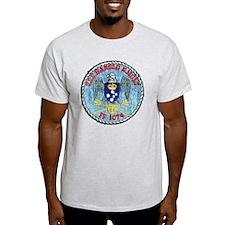 uss harold e. hold ff patch transpar T-Shirt