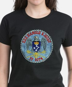 uss harold e. hold ff patch t Tee