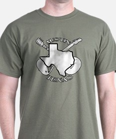 Austin Texas Guitars T-Shirt