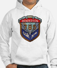uss henderson patch transparent Hoodie