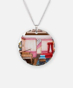 Theres no place like home- F Necklace