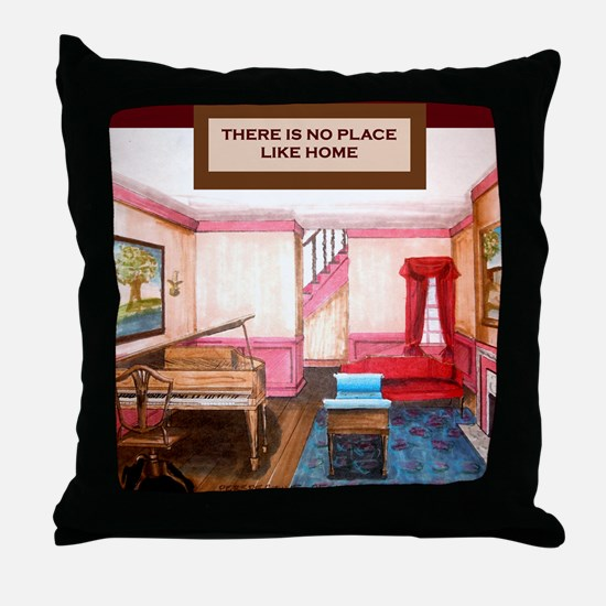 Theres no place like home- Federal St Throw Pillow