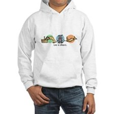 Cool Dog adoption Hoodie