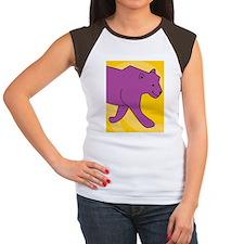 Panther iPad Case Women's Cap Sleeve T-Shirt