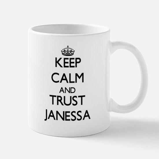 Keep Calm and trust Janessa Mugs