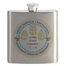 US Navy Chief Flask