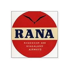 """RANA Airways Square Sticker 3"""" x 3"""""""