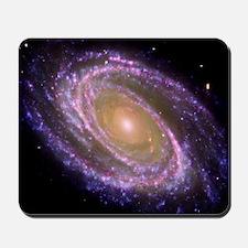 Violet Spiral Galaxy Mousepad