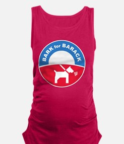 Pets for Obama Maternity Tank Top