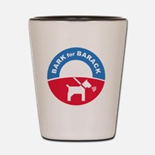Pets for Obama Shot Glass