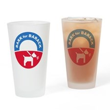 Pets for Obama Drinking Glass