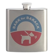 Pets for Obama Flask