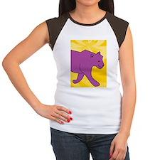 Panther iPad 2 Hard Cas Women's Cap Sleeve T-Shirt