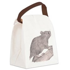 Baby Rat Canvas Lunch Bag