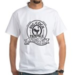 Big Cock Beer White T-Shirt