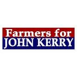 Farmers for John Kerry (bumper sticker)