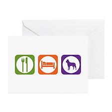 Eat Sleep Laekenois Greeting Cards (Pk of 10)