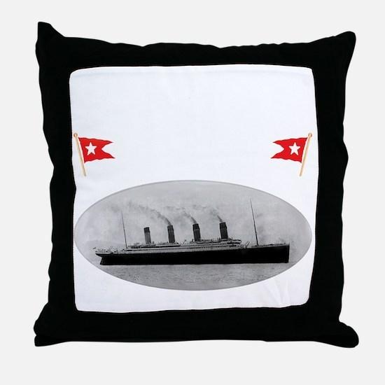 TG214x14whiteletTRANSBESTUSETHIS Throw Pillow