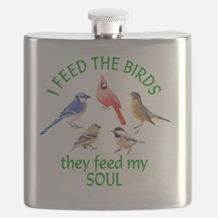 Bird Feeder Flask