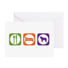 Eat Sleep Bergamasco Greeting Cards (Pk of 10)
