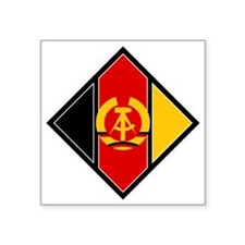 """DDR Air Force Square Sticker 3"""" x 3"""""""