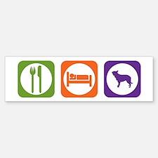 Eat Sleep Berger Bumper Bumper Bumper Sticker