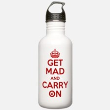 Get Mad and Carry On Water Bottle
