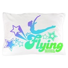Tshirts-Size-Stars-Logo-Rainbow-Purple Pillow Case