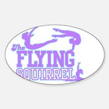 3 Gymnasts (Purple) Decal