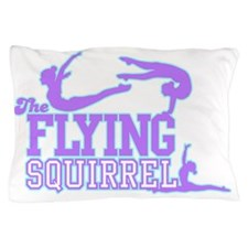 3 Gymnasts (Purple) Pillow Case