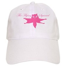 Tshirts-Squirrel-Logo-Pink Baseball Cap