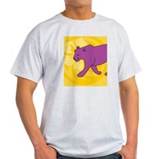 Panther Hexagon Ornament T-Shirt