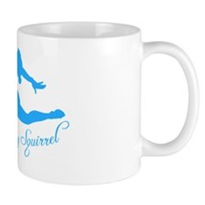Tshirts-Girl-Solid-Blue Mug