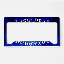 lotus sticker License Plate Holder