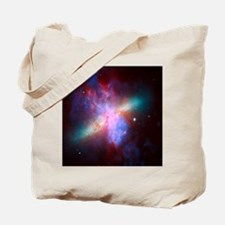 Fiery Galaxy Tote Bag