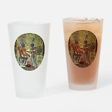 Tutankhamons Throne Drinking Glass