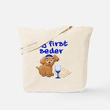 my first Seder Tote Bag
