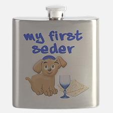 my first Seder Flask