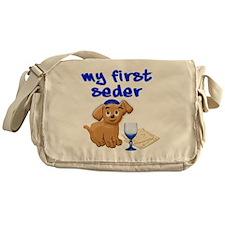 my first Seder Messenger Bag