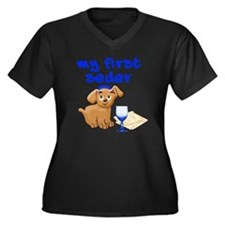 my first Sed Women's Plus Size Dark V-Neck T-Shirt