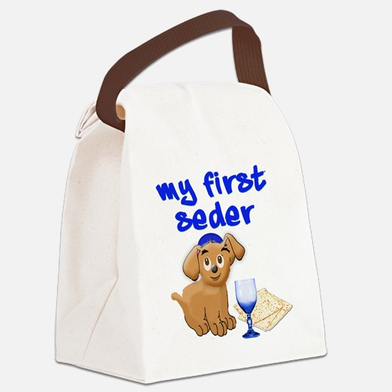 my first Seder Canvas Lunch Bag