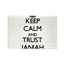 Keep Calm and trust Janiah Magnets