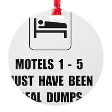 Motel Dump Ornament