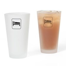 Motel Dump Drinking Glass